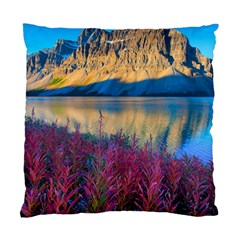 Banff National Park 1 Standard Cushion Case (one Side)  by trendistuff