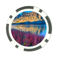 Banff National Park 1 Poker Chip Card Guards (10 Pack)  by trendistuff