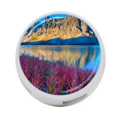 Banff National Park 1 4 Port Usb Hub (two Sides)  by trendistuff
