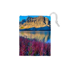 Banff National Park 1 Drawstring Pouches (small)  by trendistuff