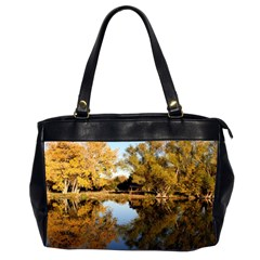 Autumn Lake Office Handbags (2 Sides)  by trendistuff