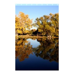Autumn Lake Shower Curtain 48  X 72  (small)  by trendistuff