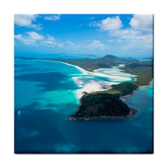 Whitehaven Beach 2 Tile Coasters by trendistuff