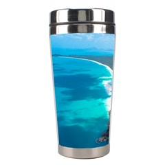 Whitehaven Beach 2 Stainless Steel Travel Tumblers by trendistuff