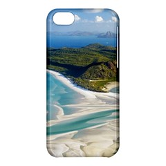 Whitehaven Beach 1 Apple Iphone 5c Hardshell Case by trendistuff