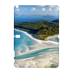 Whitehaven Beach 1 Samsung Galaxy Note 10 1 (p600) Hardshell Case by trendistuff
