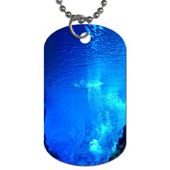 Underwater Trench Dog Tag (one Side) by trendistuff