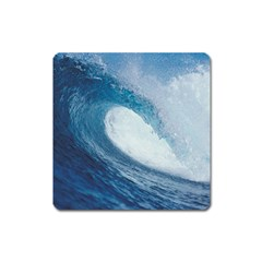 Ocean Wave 2 Square Magnet by trendistuff