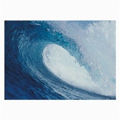 Ocean Wave 2 Large Glasses Cloth by trendistuff