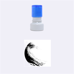 Ocean Wave 2 Rubber Round Stamps (small)