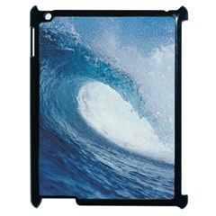 Ocean Wave 2 Apple Ipad 2 Case (black) by trendistuff