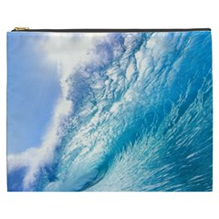 Ocean Wave 1 Cosmetic Bag (xxxl)  by trendistuff