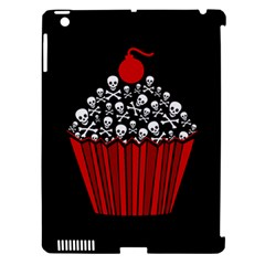 Skull Cupcake Apple Ipad 3/4 Hardshell Case (compatible With Smart Cover) by waywardmuse