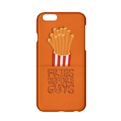 Fries Before Guys Apple Iphone 6/6s Hardshell Case by typewriter