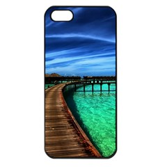 Maldives 2 Apple Iphone 5 Seamless Case (black) by trendistuff