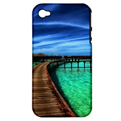 Maldives 2 Apple Iphone 4/4s Hardshell Case (pc+silicone) by trendistuff