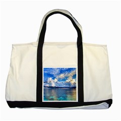 Maldives 1 Two Tone Tote Bag  by trendistuff