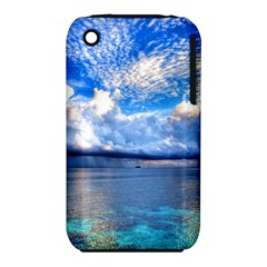 Maldives 1 Apple Iphone 3g/3gs Hardshell Case (pc+silicone) by trendistuff