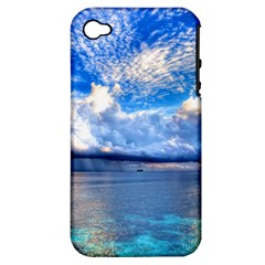 Maldives 1 Apple Iphone 4/4s Hardshell Case (pc+silicone) by trendistuff