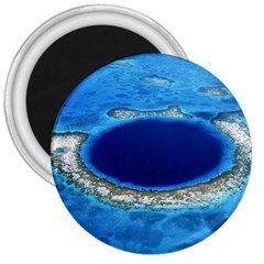 Great Blue Hole 2 3  Magnets by trendistuff
