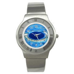 Great Blue Hole 2 Stainless Steel Watches by trendistuff