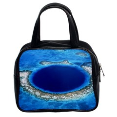 Great Blue Hole 2 Classic Handbags (2 Sides)