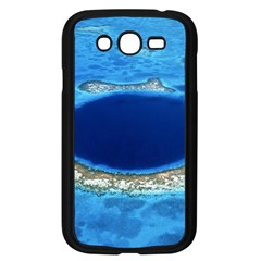 Great Blue Hole 2 Samsung Galaxy Grand Duos I9082 Case (black) by trendistuff
