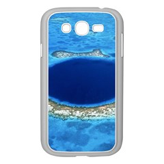 Great Blue Hole 2 Samsung Galaxy Grand Duos I9082 Case (white) by trendistuff