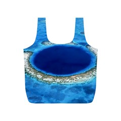 Great Blue Hole 2 Full Print Recycle Bags (s)  by trendistuff