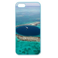 Great Blue Hole 1 Apple Seamless Iphone 5 Case (color) by trendistuff