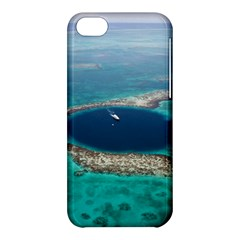 Great Blue Hole 1 Apple Iphone 5c Hardshell Case by trendistuff