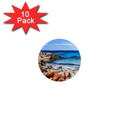 Bay Of Fires 1  Mini Magnet (10 Pack)  by trendistuff