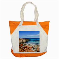 Bay Of Fires Accent Tote Bag  by trendistuff