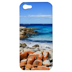 Bay Of Fires Apple Iphone 5 Hardshell Case by trendistuff