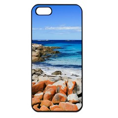 Bay Of Fires Apple Iphone 5 Seamless Case (black) by trendistuff