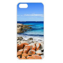 Bay Of Fires Apple Iphone 5 Seamless Case (white) by trendistuff