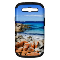Bay Of Fires Samsung Galaxy S Iii Hardshell Case (pc+silicone) by trendistuff