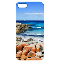 Bay Of Fires Apple Iphone 5 Hardshell Case With Stand by trendistuff