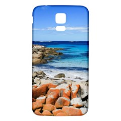 Bay Of Fires Samsung Galaxy S5 Back Case (white) by trendistuff