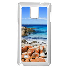 Bay Of Fires Samsung Galaxy Note 4 Case (white) by trendistuff