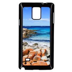 Bay Of Fires Samsung Galaxy Note 4 Case (black) by trendistuff