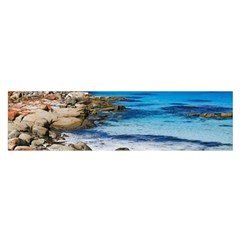 Bay Of Fires Satin Scarf (oblong) by trendistuff