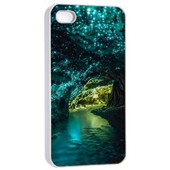 Waitomo Glowworm Apple Iphone 4/4s Seamless Case (white) by trendistuff