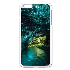 Waitomo Glowworm Apple Iphone 6 Plus/6s Plus Enamel White Case by trendistuff