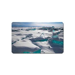 Turquoise Ice Magnet (name Card) by trendistuff