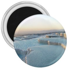 Travertine Pools 3  Magnets by trendistuff
