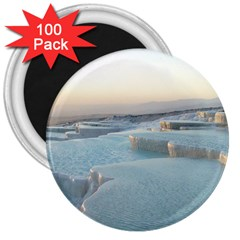 Travertine Pools 3  Magnets (100 Pack) by trendistuff