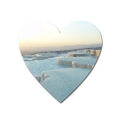 Travertine Pools Heart Magnet by trendistuff