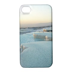 Travertine Pools Apple Iphone 4/4s Hardshell Case With Stand by trendistuff