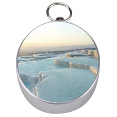 Travertine Pools Silver Compasses by trendistuff